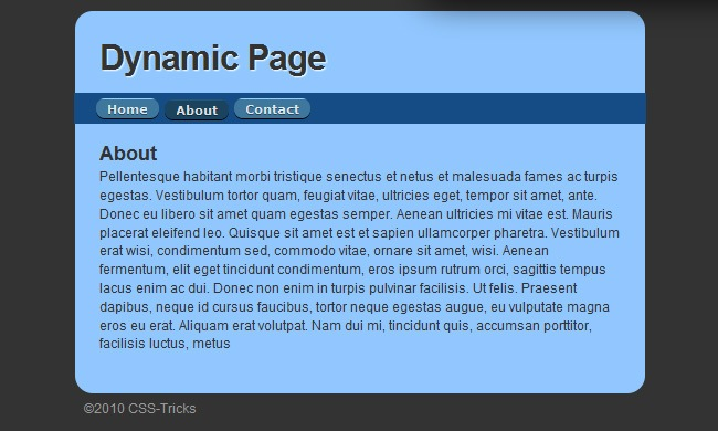 Dynamic Page/Replacing Content