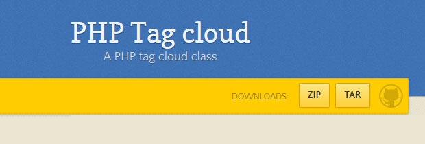 Como crear una nube de tags con PHP