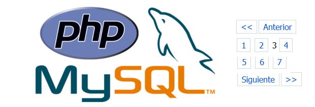 Paginación con PHP y MySQL